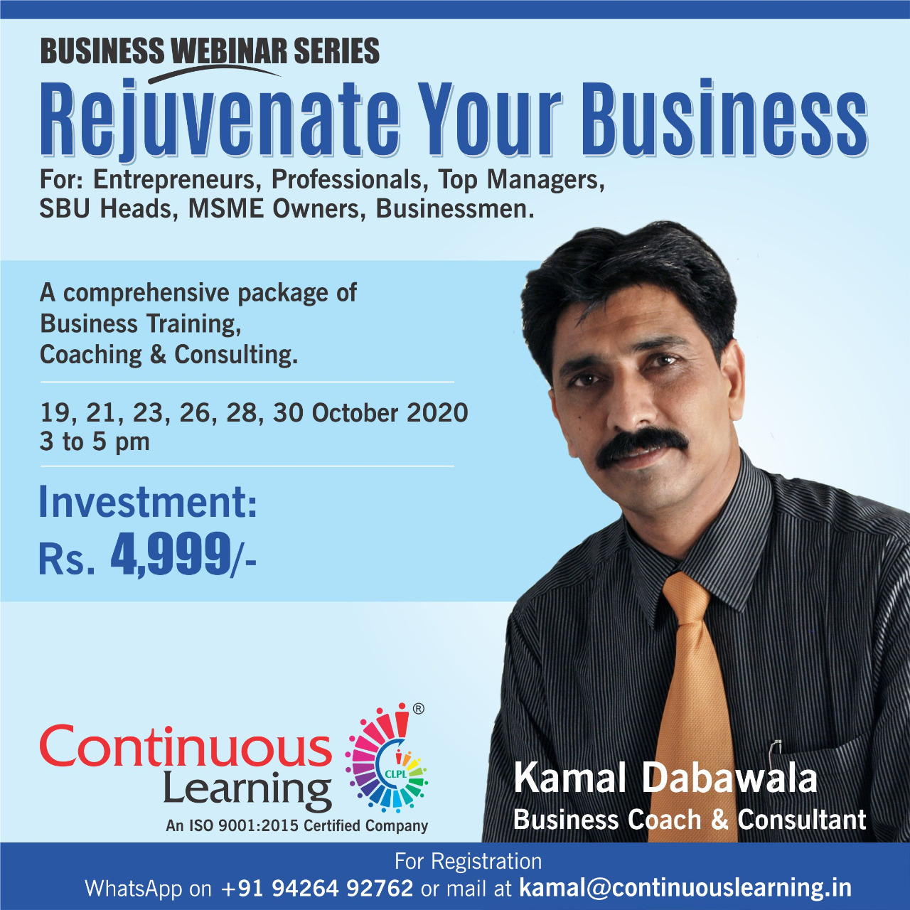 Rejuvenate your Business